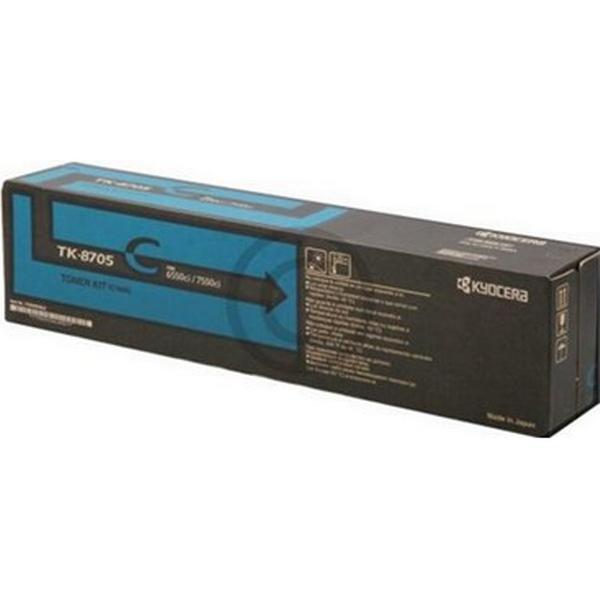 Kyocera (TK-8705C) Original Toner Cyan 30000 Sidor