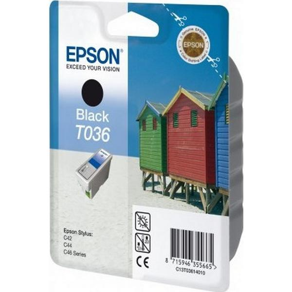 Epson (C13T03614010) Original Bläckpatron Svart 10 ml