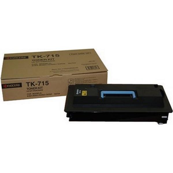 Kyocera (TK-715) Original Toner Svart 34000 Sidor
