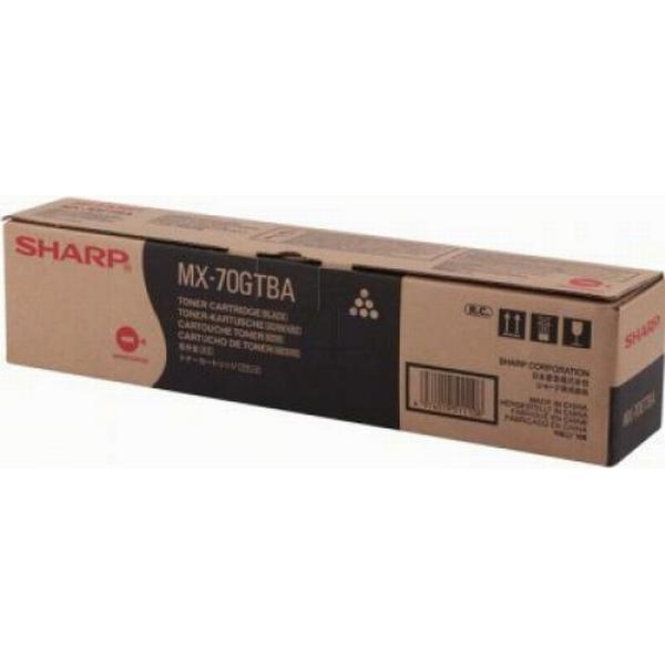 Sharp (MX70GTBA) Original Toner Svart 42000 Sidor