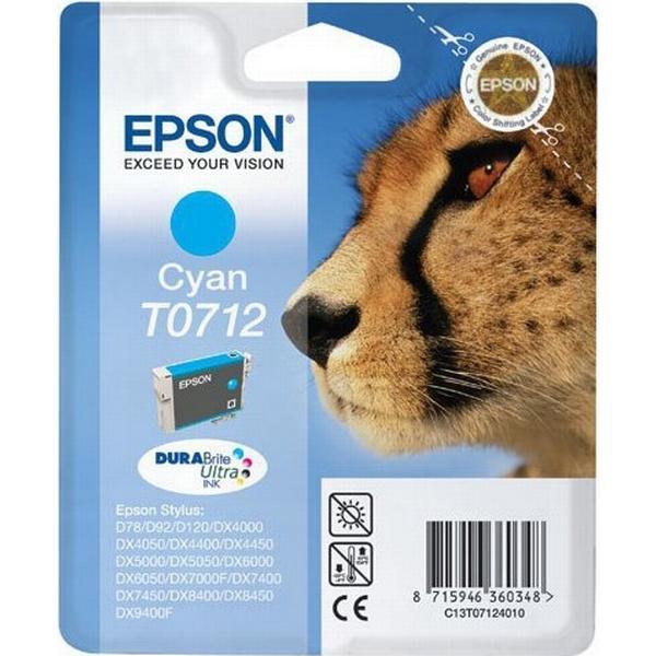 Epson (C13T07124021) Original Bläckpatron Cyan