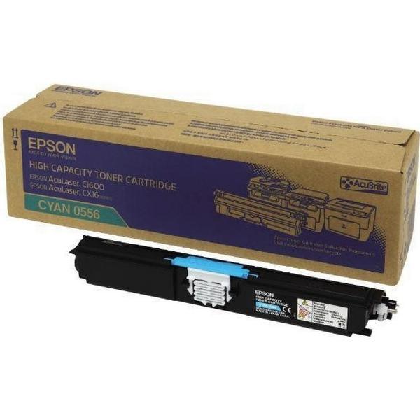 Epson (C13S050556) Original Toner Cyan 2700 Sidor