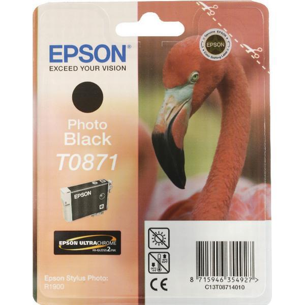 Epson (C13T08714010) Original Bläckpatron Svart 11.4 ml 915 Sidor
