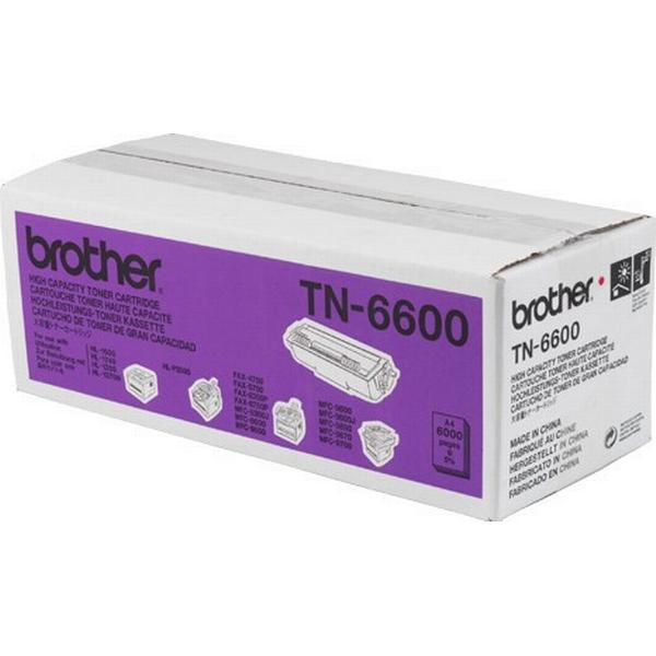 Brother (TN-6600) Original Toner Svart 6000 Sidor