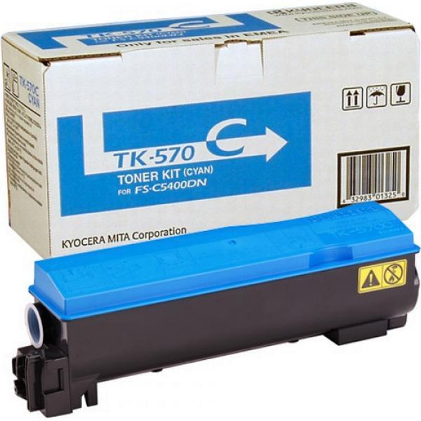 Kyocera (TK-570C) Original Toner Cyan 12000 Pages