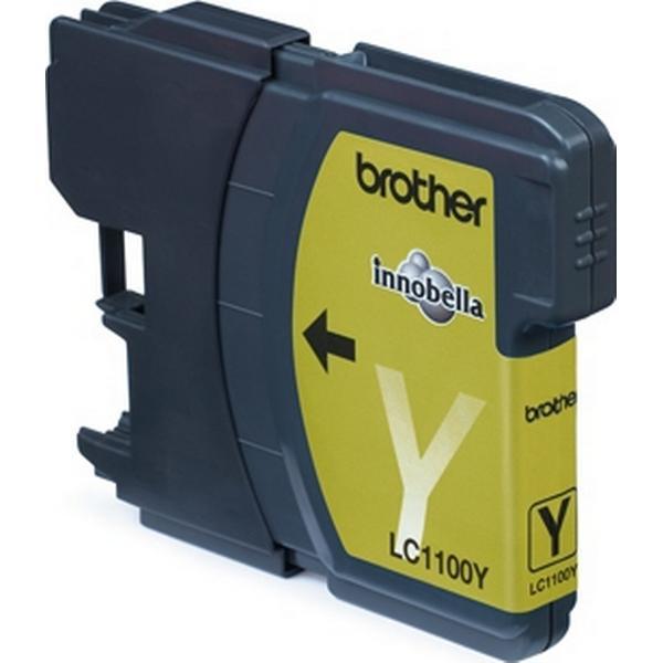 Brother (LC1100Y) Original Bläckpatron Gul 325 Sidor