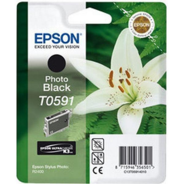 Epson (C13T05914010) Original Bläckpatron Svart 13 ml