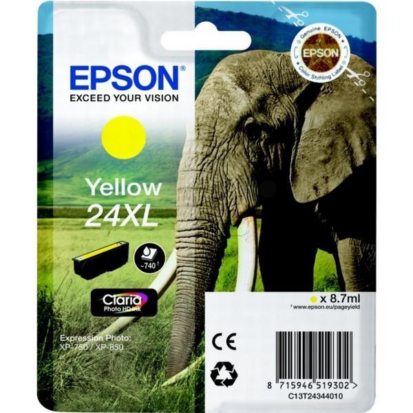 Epson (C13T24344010) Original Bläckpatron Gul 8.7 ml