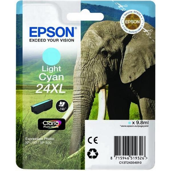 Epson (C13T24354010) Original Bläckpatron Ljuscyan 9.8 ml