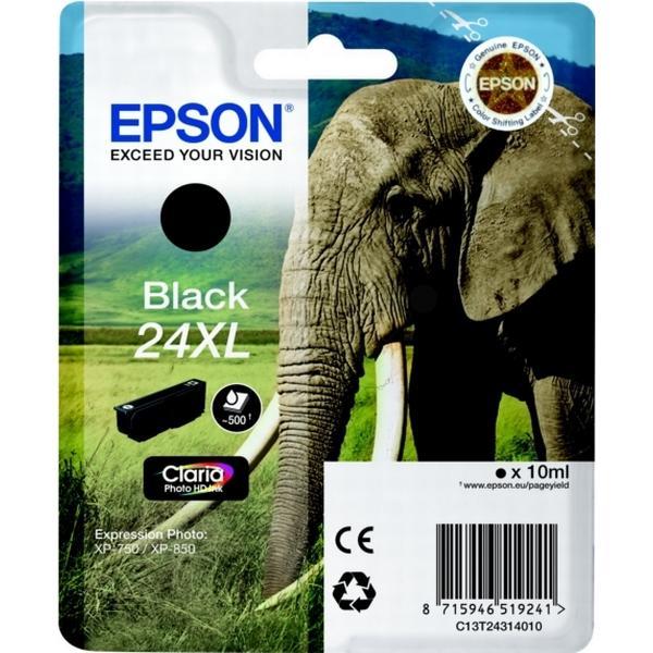 Epson (C13T24314010) Original Bläckpatron Svart 10 ml 500 Sidor