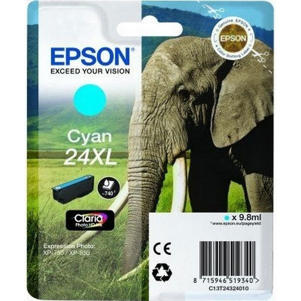 Epson (C13T24324010) Original Bläckpatron Cyan 9.8 ml