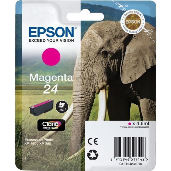 Epson (C13T24234010) Original Bläckpatron Magenta 4.6 ml