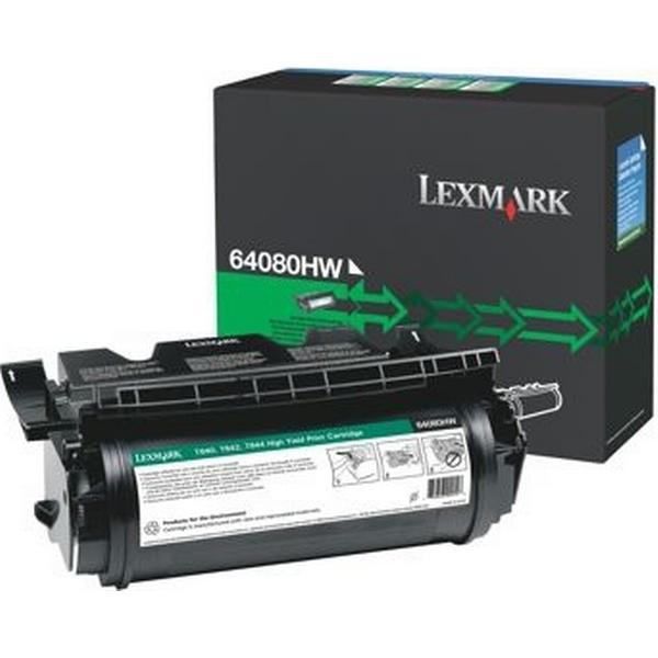 Lexmark (64080HW) Original Toner Svart 21000 Sidor