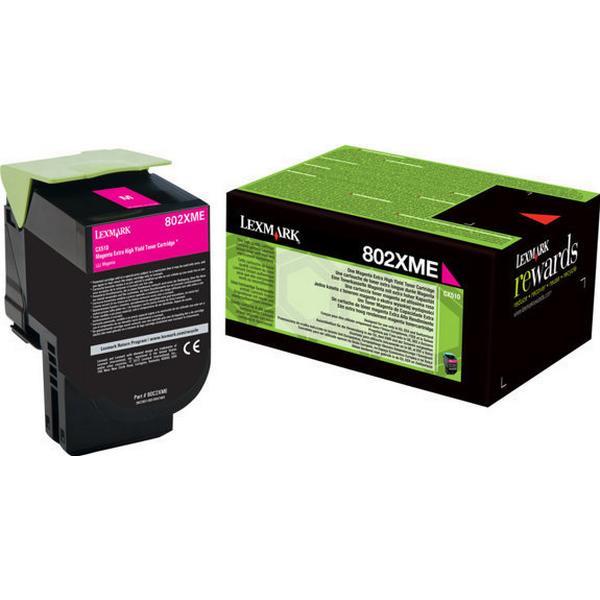 Lexmark (80C2XME) Original Toner Magenta 4000 Sidor