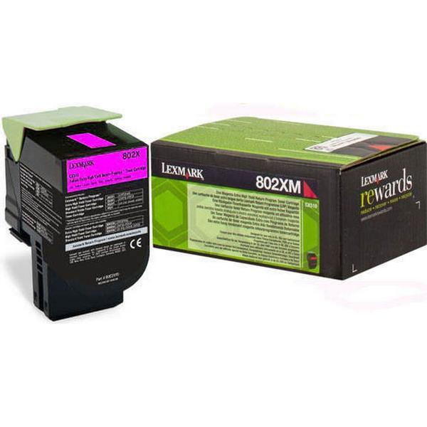 Lexmark (80C2XM0) Original Toner Magenta 4000 Sidor