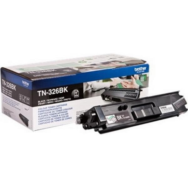 Brother (TN326BK) Original Toner Svart 4000 Sidor