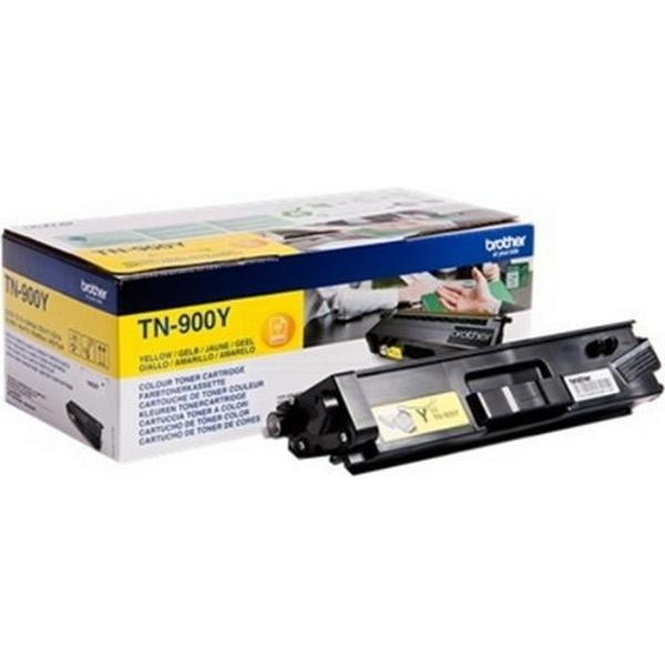 Brother (TN900Y) Original Toner Gul 6000 Sidor
