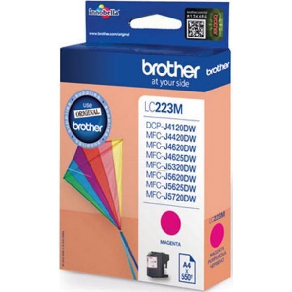 Brother (LC223M) Original Bläckpatron Magenta 5.9 ml 600 Sidor