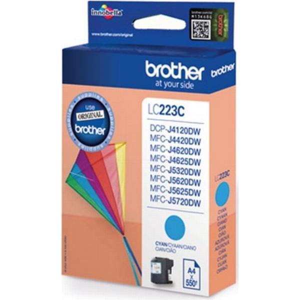 Brother (LC223C) Original Bläckpatron Cyan 5.9 ml 600 Sidor