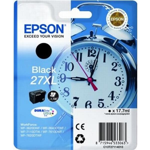 Epson (C13T27114010) Original Bläckpatron Svart 17.7 ml