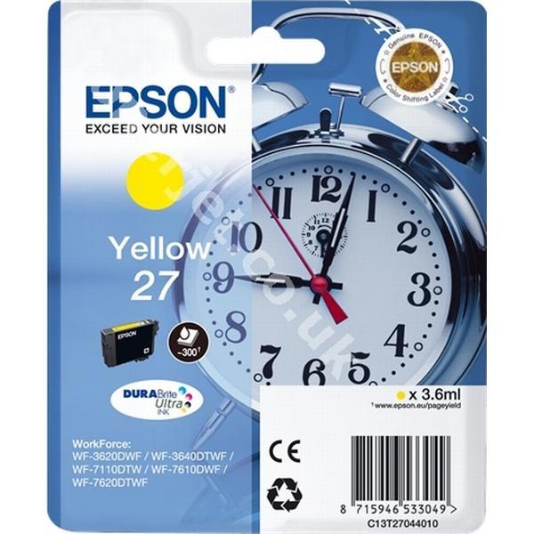 Epson (C13T27044010) Original Bläckpatron Gul 3.6 ml