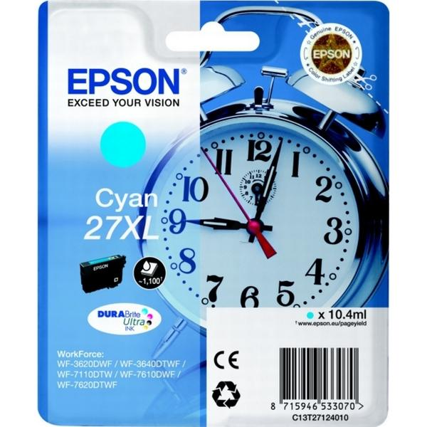 Epson (C13T27124010) Original Bläckpatron Cyan 10.4 ml