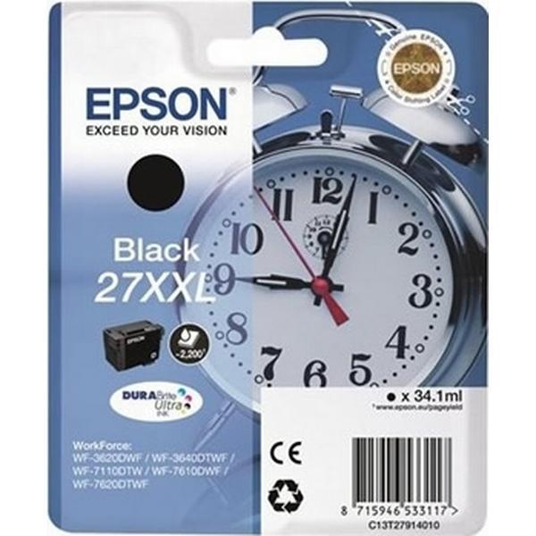 Epson (C13T27914010) Original Bläckpatron Svart 34.1 ml
