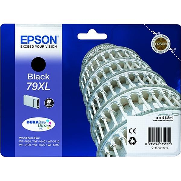Epson (C13T79014010) Original Bläckpatron Svart 41.8 ml