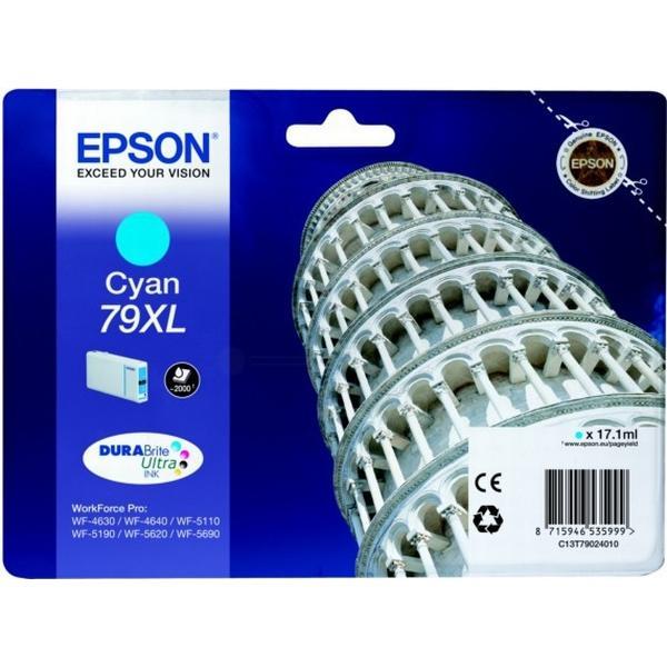 Epson (C13T79024010) Original Bläckpatron Cyan 17.1 ml