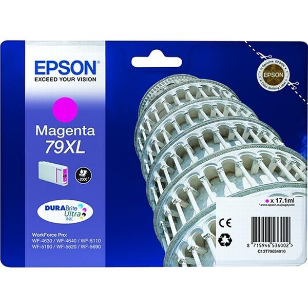 Epson (C13T79034010) Original Bläckpatron Magenta 17.1 ml