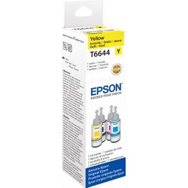 Epson (C13T664440) Original Bläckpatron Gul 70 ml 6500 Sidor