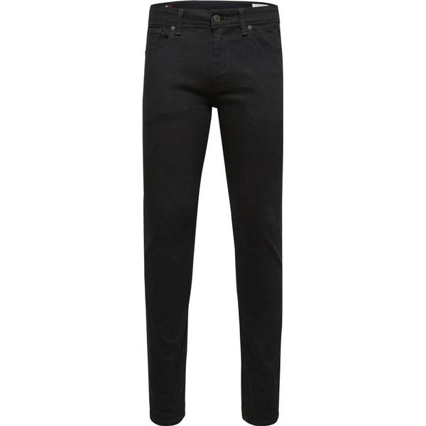 Selected Slim Fit Jeans - Black/Black
