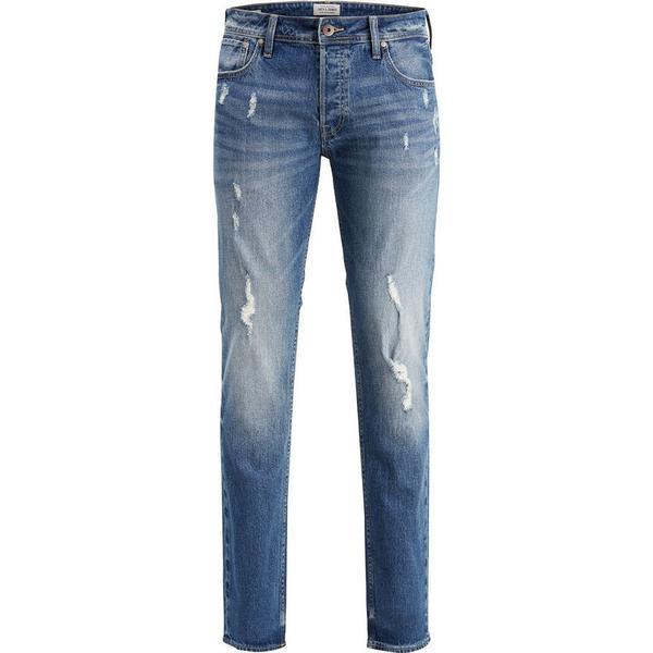 Jack & Jones Tim Original Cr 004 Slim Fit Jeans - Blue/Blue Denim