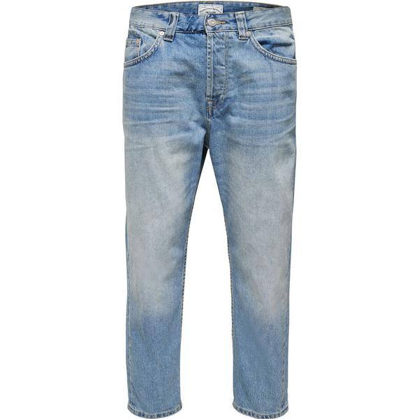 Only & Sons Beam Regular Fit Jeans - Blue/Light Blue Denim