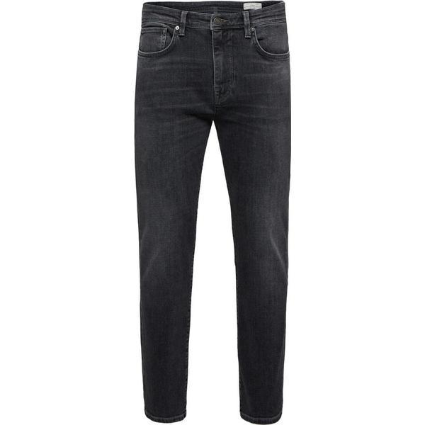 Selected Slim Fit Jeans Grey/Grey