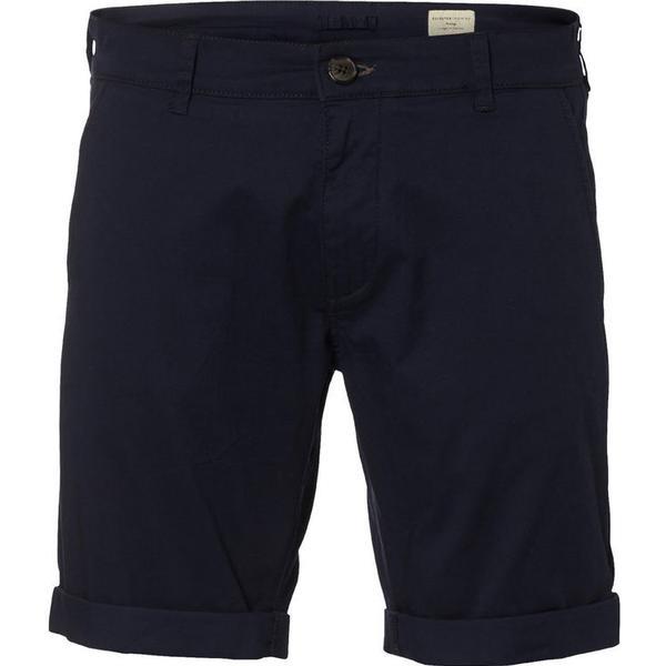 Selected Chino Shorts Navy Blazer Blue/Navy Blazer