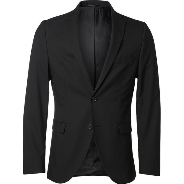 Selected Slim Fit Blazer - Black/Black