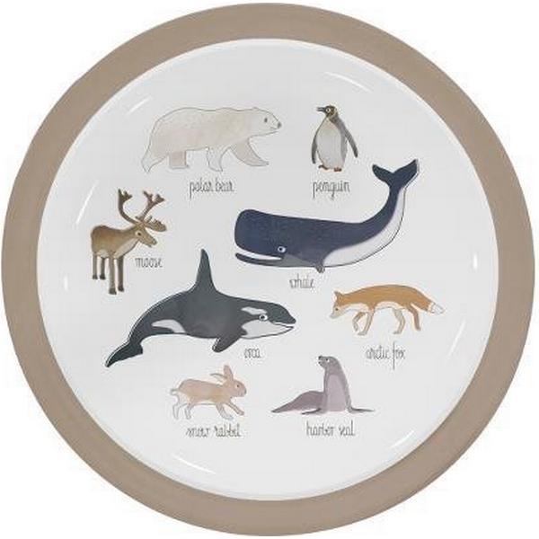 Sebra Melamin Tallerken Arctic Animals