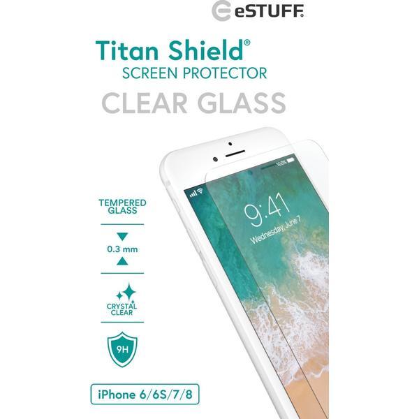 eSTUFF Titan Shield Screen Protector (iPhone 6/6s/7/8)