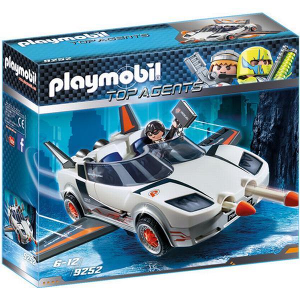 Playmobil Agent P. med Spion Racer 9252