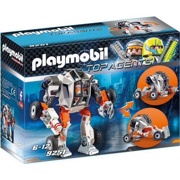 Playmobil Agent T.E.C.'s Mech 9251