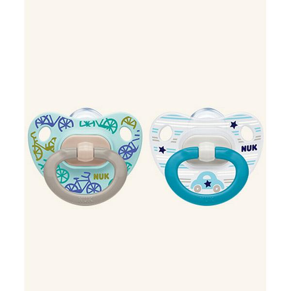 Nuk Classic Happy Days Soother 6-18m 2-pack