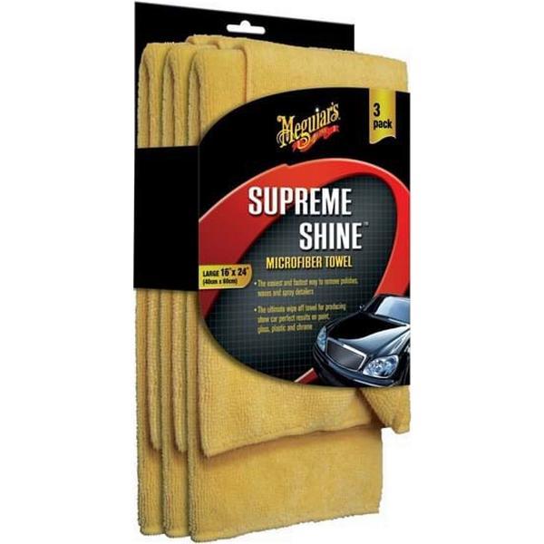 Meguiars Supreme Shine Microfiber Towel 3-pack
