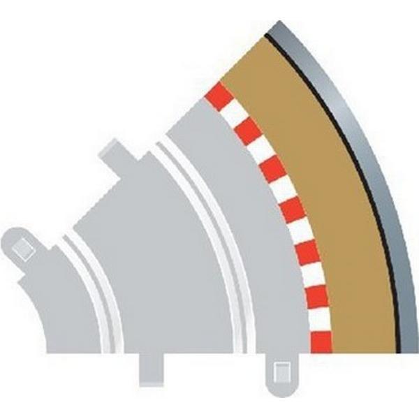 Scalextric Radius 1 Curve Outer Borders 45° x 4 C8240