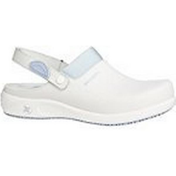 Oxypas Leather Move Doria Slip-resistant, Antistatic Leather Oxypas Nursing Clogs with Coolmax Lining, 5.5 UK (39 EU) - EN safety certified 79f8eb