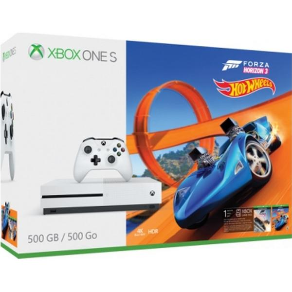 Microsoft Xbox One S 500GB - Forza Horizon 3 Hot Wheels Bundle