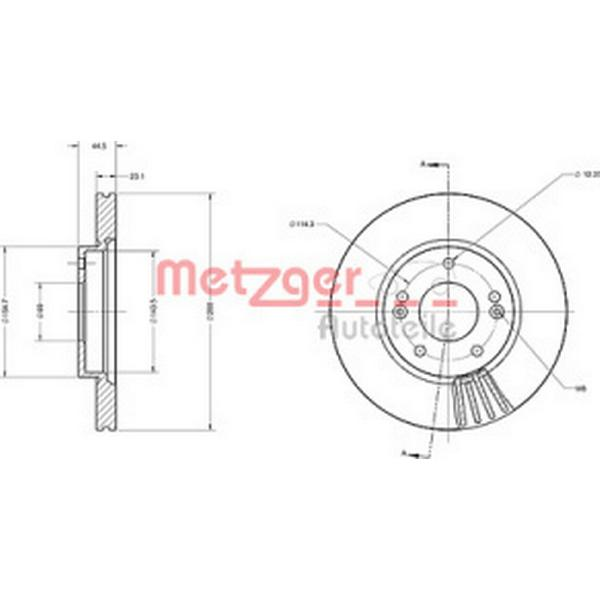 Metzger 6110738