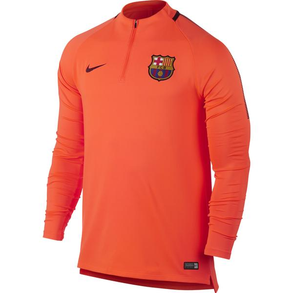 Nike Barcelona FC Dry Squad Drill Training LS Jersey 17/18 Sr