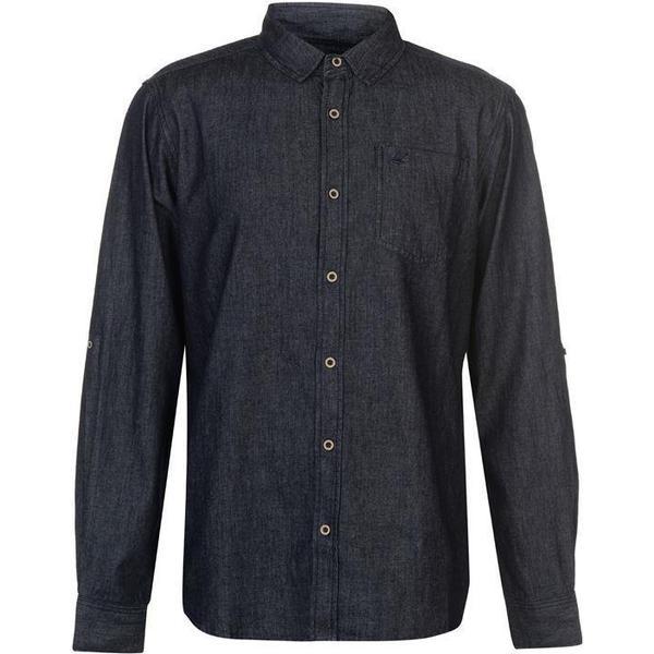 SoulCal LS Denim Shirt Indigo Wash