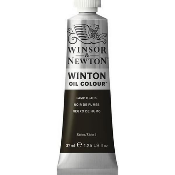 Winsor & Newton Winton Oil Color Lamp Black 337 37ml